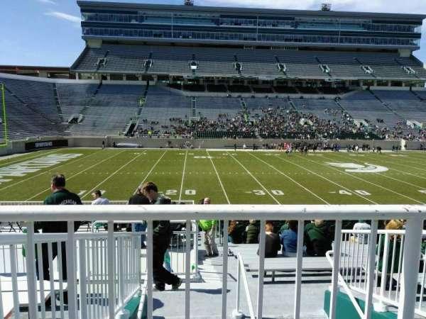 Spartan Stadium, secção: 10, fila: 27, lugar: 19