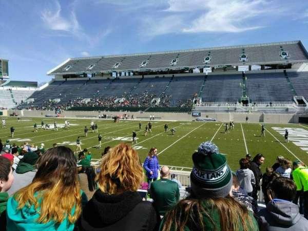 Spartan Stadium, secção: 21, fila: 17, lugar: 23