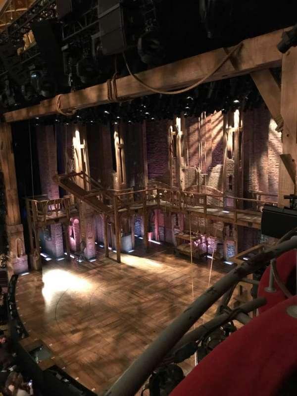 Richard Rodgers Theatre, secção: Box H, fila: 1 , lugar: 3