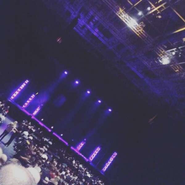Arena Birmingham, secção: Block 7, fila: L, lugar: 292