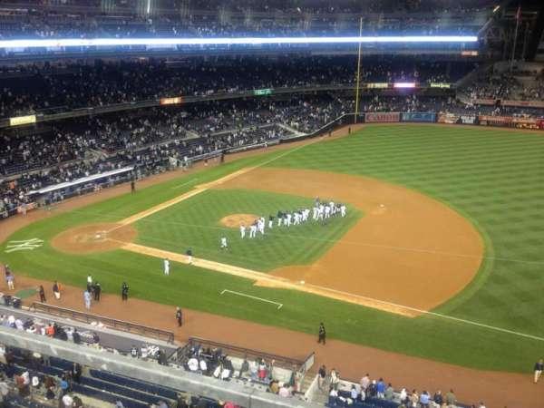 Yankee Stadium, secção: 312, fila: 1, lugar: 5