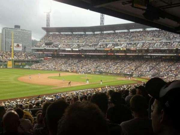 PNC Park, secção: 129, fila: GG, lugar: 7