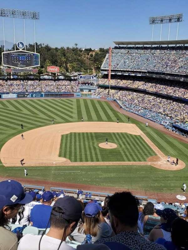 Dodger Stadium, secção: 15RS, fila: N, lugar: 9