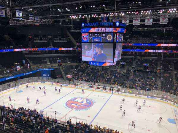 Barclays Center, secção: 223, fila: 2, lugar: 1