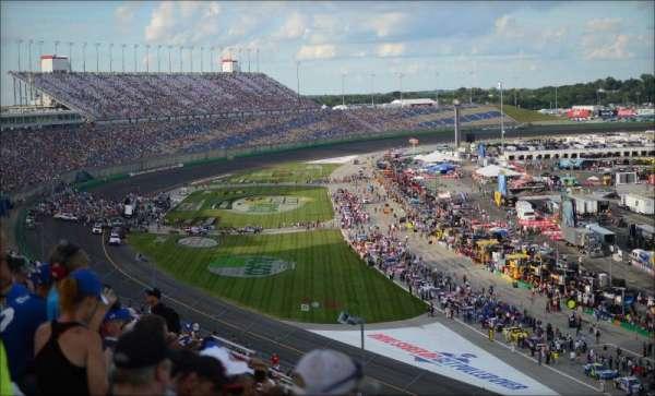 Kentucky Speedway, secção: Kentucky Tower A, fila: 17, lugar: 28
