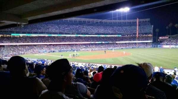 Dodger Stadium, secção: 38FD, fila: W, lugar: 7