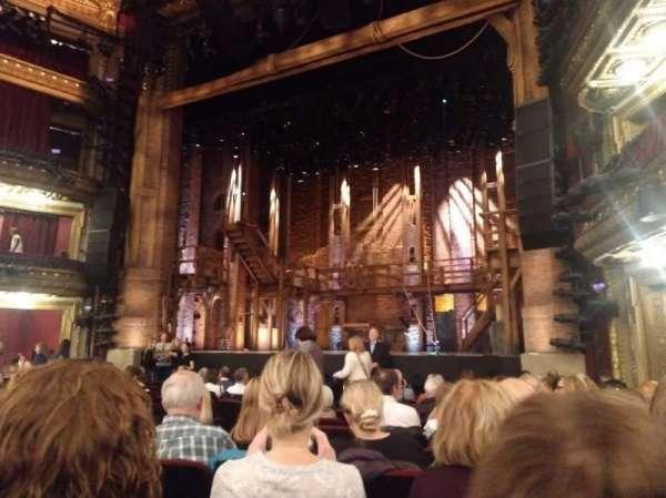 CIBC Theatre, secção: Orchestra R, fila: N, lugar: 10