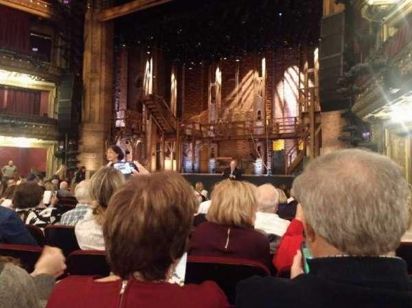 CIBC Theatre, secção: Orchestra R, fila: N, lugar: 12