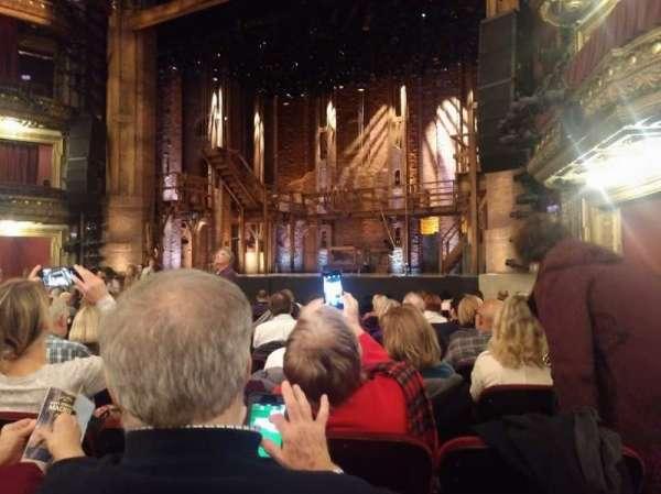 CIBC Theatre, secção: Orchestra R, fila: N, lugar: 14