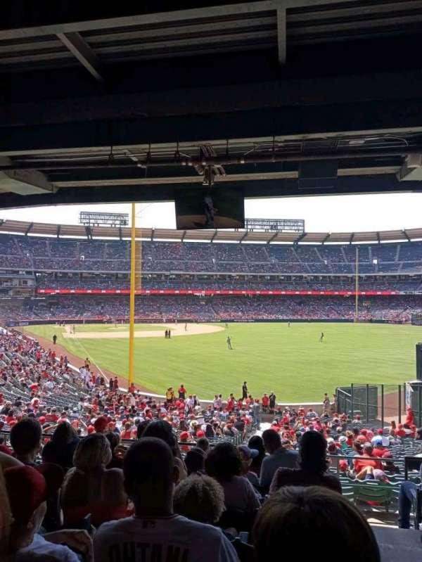Angel Stadium, secção: 232, fila: H, lugar: 19
