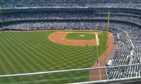 Yankee Stadium, secção: 434A, fila: 2, lugar: 4