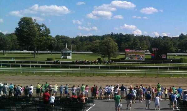 Saratoga Race Course, secção: S, fila: J, lugar: 7