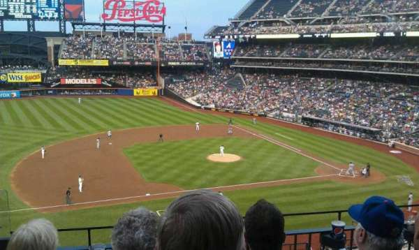 Citi Field, secção: 327, fila: 3, lugar: 23