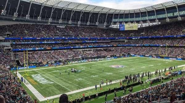 Tottenham Hotspur Stadium, secção: 249, fila: 41, lugar: 28