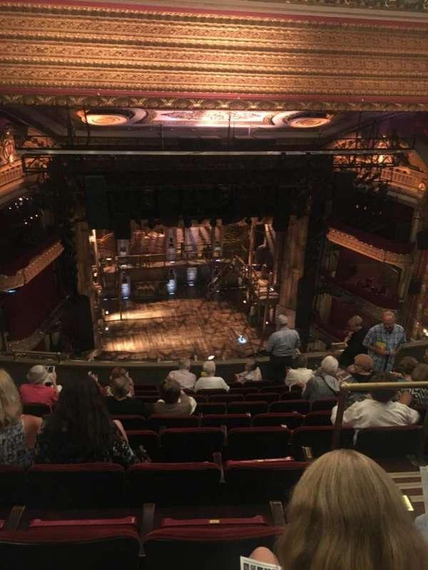 CIBC Theatre, secção: Balcony LC, fila: K, lugar: 413