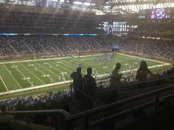 Ford Field, secção: 327, fila: 7, lugar: 17