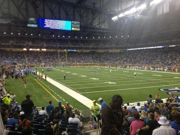 Ford Field, secção: 113, fila: 15, lugar: 16