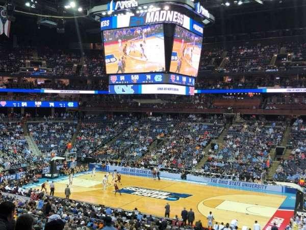 Nationwide Arena, secção: C2, fila: D, lugar: 4