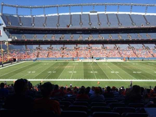 Broncos Stadium at Mile High, secção: 124, fila: 39, lugar: 13