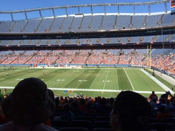 Broncos Stadium at Mile High, secção: 120, fila: 41, lugar: 13