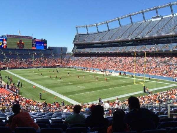 Broncos Stadium at Mile High, secção: 117, fila: 39, lugar: 28