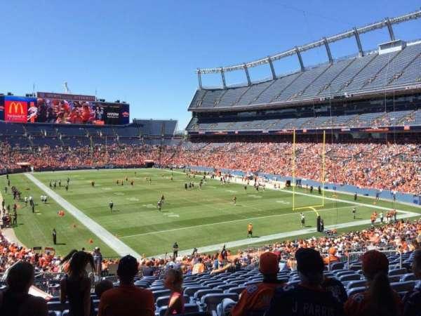 Broncos Stadium at Mile High, secção: 117, fila: 39