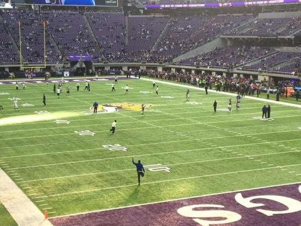 U.S. Bank Stadium, secção: 143, fila: 22, lugar: 21