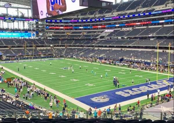 AT&T Stadium, secção: 227, fila: 10, lugar: 14