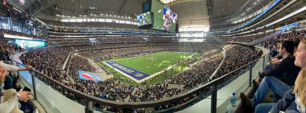 AT&T Stadium, secção: 343, fila: 1, lugar: 13