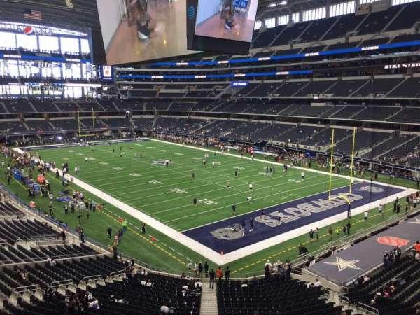 AT&T Stadium, secção: 303, fila: 4, lugar: 3