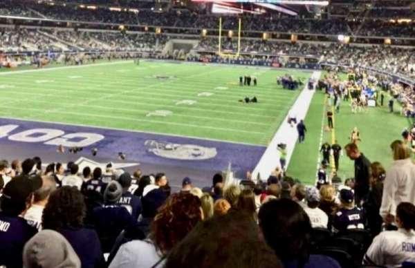 AT&T Stadium, secção: 121, fila: 21, lugar: 16