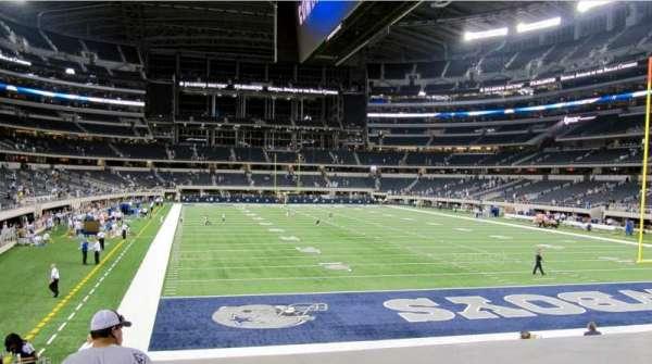 AT&T Stadium, secção: 150, fila: 16, lugar: 20