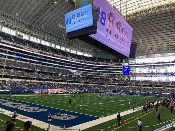 AT&T Stadium, secção: 144, fila: 10, lugar: 18