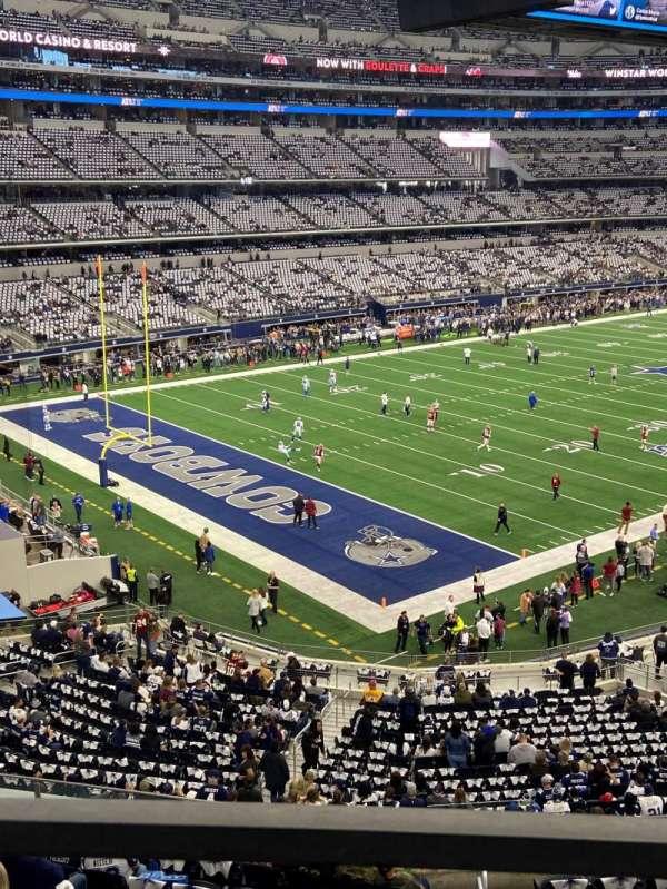 AT&T Stadium, secção: 343, fila: 1, lugar: 16