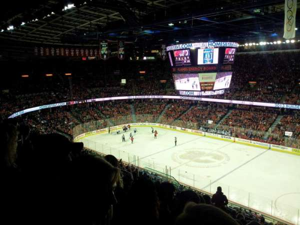 Scotiabank Saddledome, secção: 228, fila: 18, lugar: 15