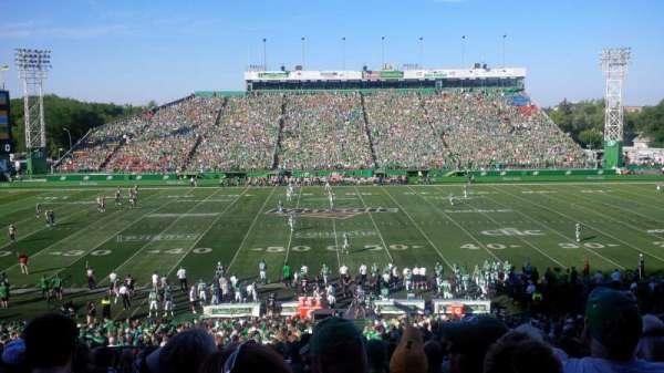 Taylor Field (Regina), secção: 41, fila: 18, lugar: 21