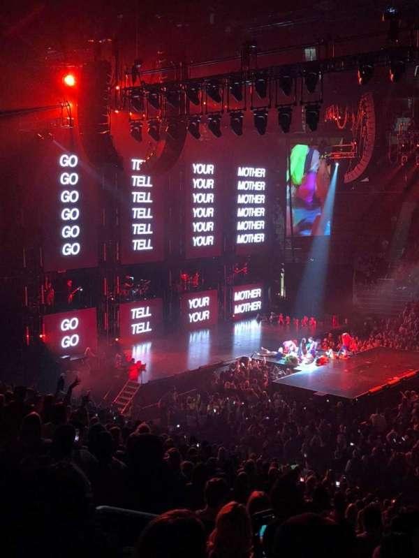 Little Caesars Arena, secção: 122, fila: 22, lugar: 13