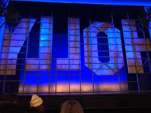 Nederlander Theatre, secção: Orchestra C, fila: D, lugar: 110