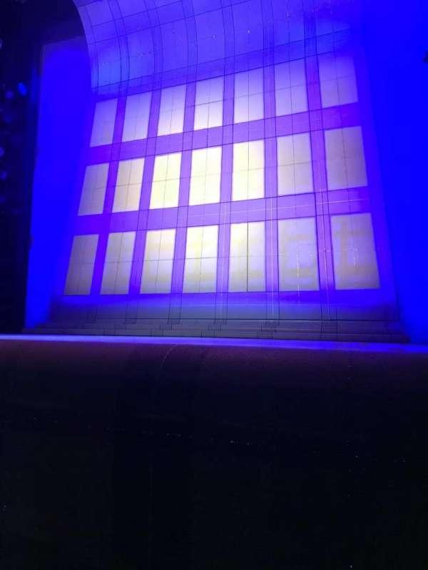 Alice Griffin Jewel Box Theatre, secção: Orchestra, fila: B, lugar: 4