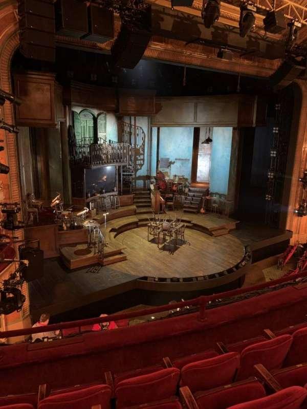 Walter Kerr Theatre, secção: Mezzanine L, fila: D, lugar: 17
