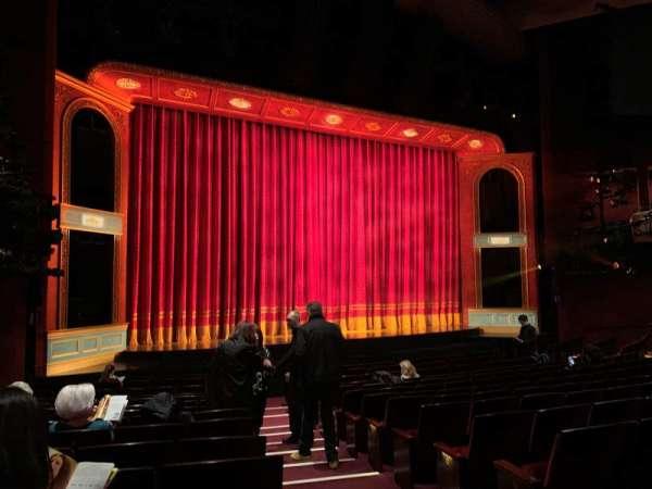 Marquis Theatre, secção: Orchestra L, fila: P, lugar: 1