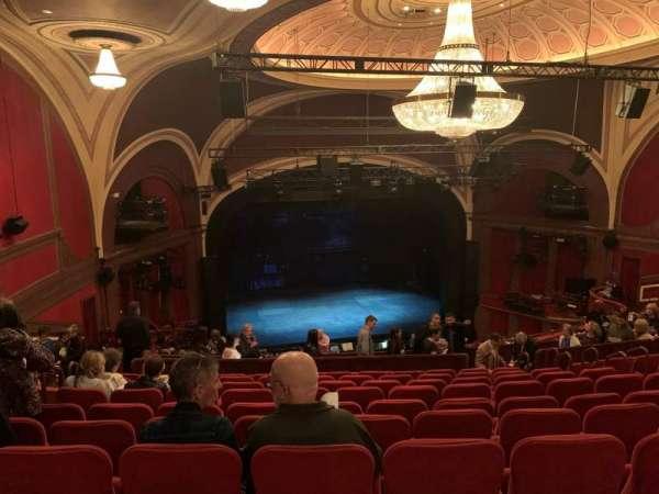 Broadway Theatre - 53rd Street, secção: Rear Mezzanine L, fila: L, lugar: 120