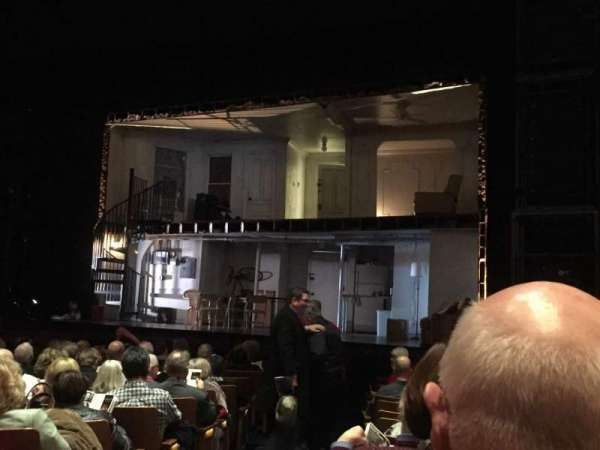 The Kennedy Center Eisenhower Theater, secção: Orch, fila: N, lugar: 2