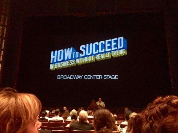 The Kennedy Center Eisenhower Theater, secção: Orch, fila: N, lugar: 109