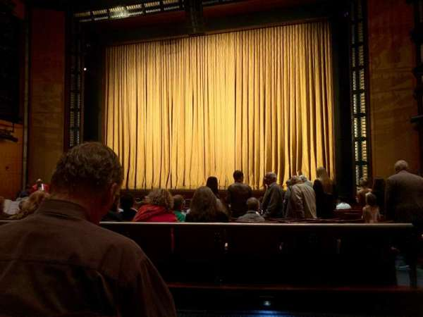 The Kennedy Center Eisenhower Theater, secção: ORCH, fila: Q, lugar: 103