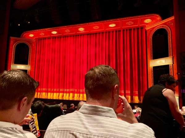 Marquis Theatre, secção: Orchestra C, fila: M, lugar: 123