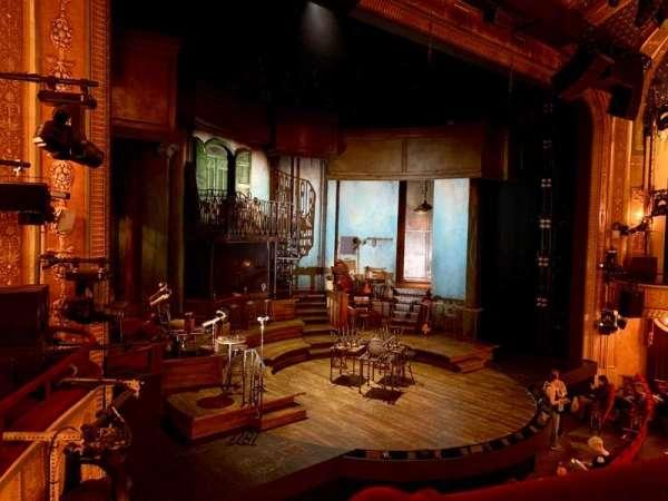Walter Kerr Theatre, secção: Mezzanine L, fila: A, lugar: 17