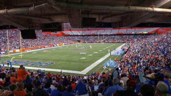 Ben Hill Griffin Stadium, secção: 18-20, fila: 36, lugar: 33