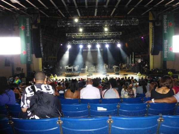 Merriweather Post Pavilion, secção: Center, fila: S, lugar: 115