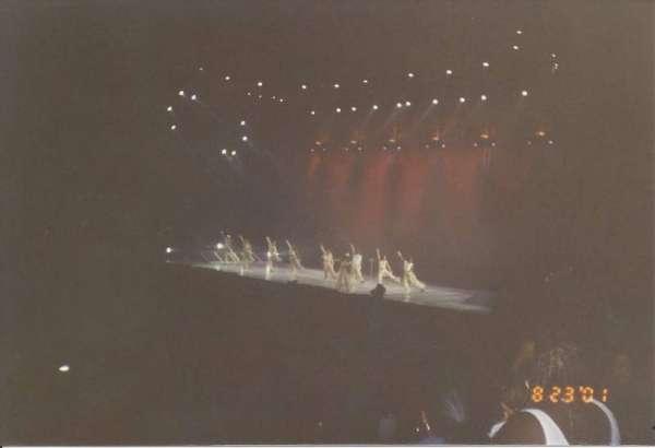 Madison Square Garden, secção: 313, fila: H, lugar: 9